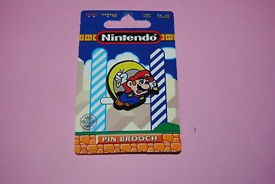 nintendo 1993 pin's pins dufort & sons snes neuf sur carte : mario caped