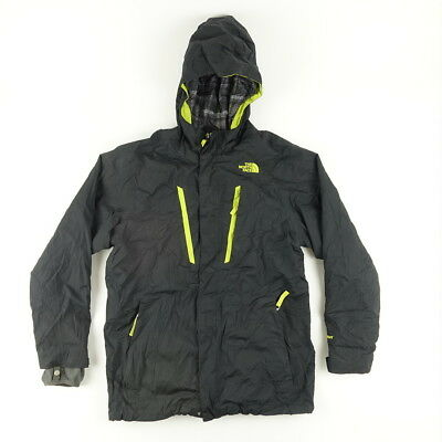 The North Face Boys Sz L Hooded Full Zip  Jacket Outwear Removable Liner Black