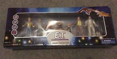 E.T. the Extra Terrestrial 20th Anniversary Limited Figure Collection RARE