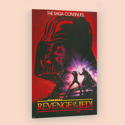 Star Wars Revenge Of the JEDI | LARGE 24X36 MOVIE POSTER |Premium Poster Paper