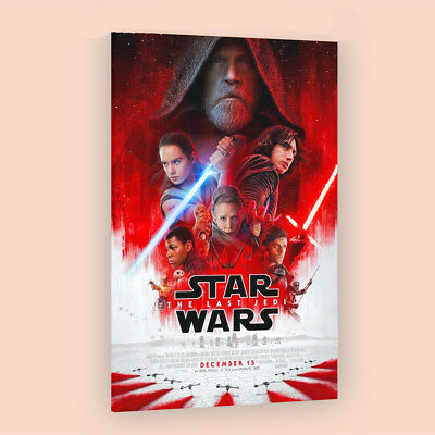 Star Wars The Last Jedi  | LARGE 24X36 MOVIE POSTER |Premium Poster Paper