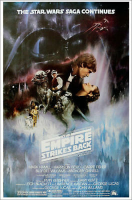 Star Wars Empire Strikes Back | LARGE 24X36 MOVIE POSTER |Premium Poster Paper
