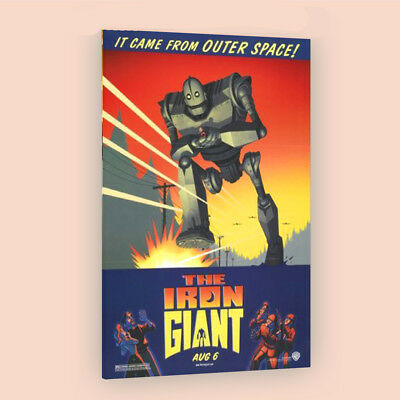 The Iron Giant | LARGE 24X36 MOVIE POSTER |Premium Poster Paper