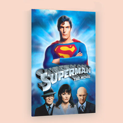 Superman The Movie | LARGE 24X36 MOVIE POSTER |Premium Poster Paper
