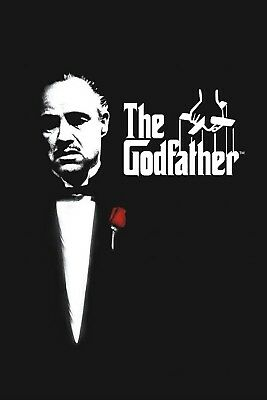 The Godfather | LARGE 24X36 MOVIE POSTER |Premium Poster Paper