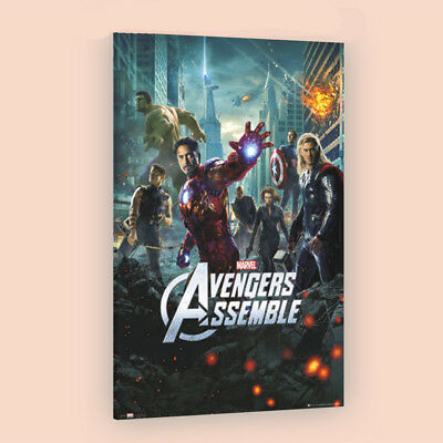 The Avengers Assemble   LARGE 24X36 MOVIE POSTER  Premium Poster Paper