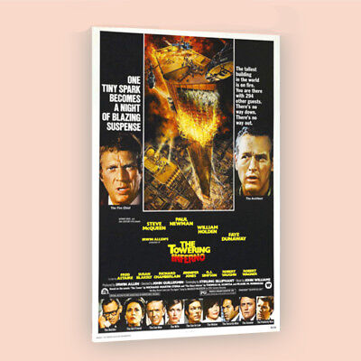 The Towering Inferno | LARGE 24X36 MOVIE POSTER |Premium Poster Paper