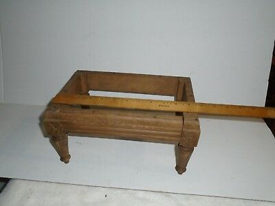 Antique Vintage Retro  Foot Stool Ottoman frams two