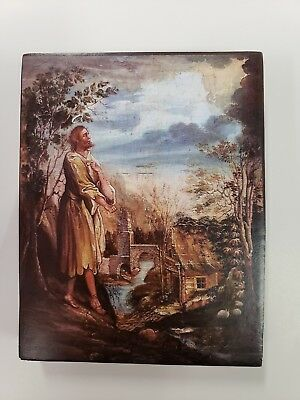 Venerable Alexis the Man of God, orthodox icon, Size 4, 9/16 x 5, 14/16 inches