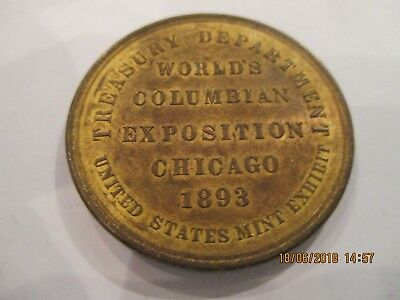 1893 Columbian Expo So-Called Dollar,U.S.Govt.Building#154