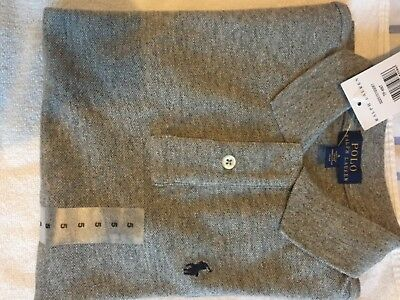 Boys Grey Ralph Lauren Polo TShirt