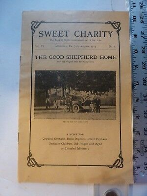 Sweet Charity Magazine vol 6 #6 Good Shepherd Home Allentown PA 1914