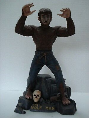 Aurora The Wolfman Model Kit Scale: 1/8 Vintage 1962 Built And Painted