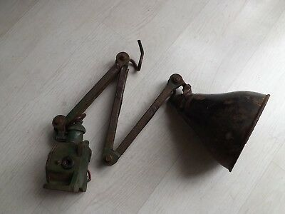 Vintage Industrial Angle Poise Lamp