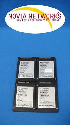 "LOT OF 4 - Transcend TS32GSSD25S-M 32GB 2.5"" SATA Solid State Disk Drives"