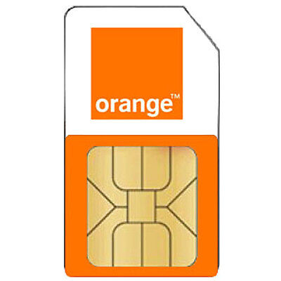 Orange / EE Pay As You Go Phone Sim Card PAYG - For Any Phone