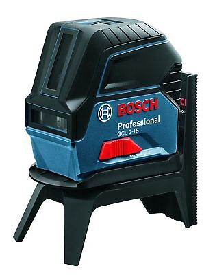 Bosch 0601066E00 2-15 GCL Laser Plus RM1 - Blue - New