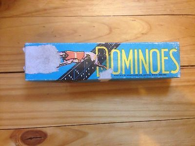 Vintage Greyhound Brand Dominoes Set - Original Box