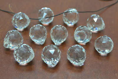 12 Pcs Asfour Round Crystal Ball Prisms Feng Shui 20Mm #t-2812