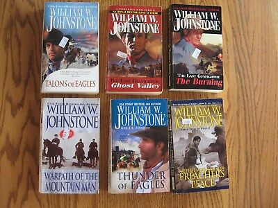 William Johnstone Lot Of 22 Western Paperback Books Nice!!
