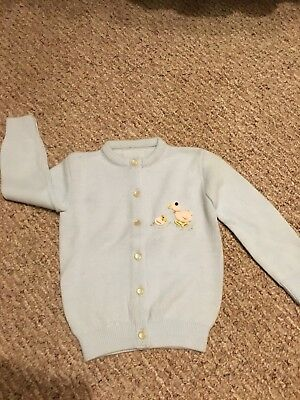 New Vintage Baby Sweater Sz 18/24 Mos