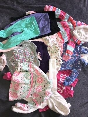 18 Month Fall/winter Clothing Lot Girls