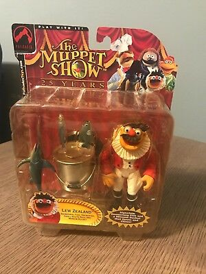 Lew Zealand Muppet Show 25 Years Palisades Toys Series 3 Action Figure