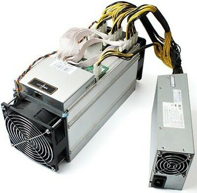 Bitmain Antminer S9 13.5TH/s ASIC miner with APW3++ Power Supply Unit PSU *USA*