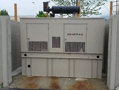 Generac Diesel Generator 75KVA Good Cobdition Only 75 Hrs 3 phase