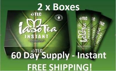 so Tea INSTANT (2 Boxes) -single serve packets (60 Day Supply) TLC Weight Loss