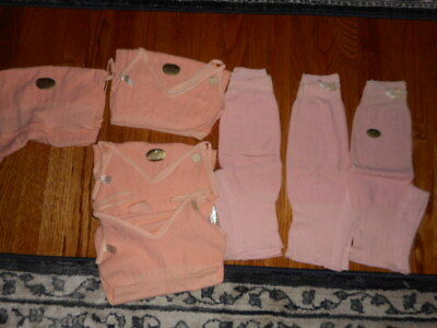 vtg womens nos wool tops and botoms pink 1950s