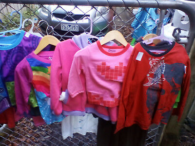 40 x Assorted new kids clothes. ex display & samples @ $2.50