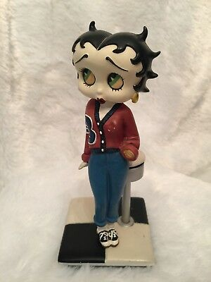 The Danbury Mint Betty Boop Campus Cutie Collector Figurine Height 7""