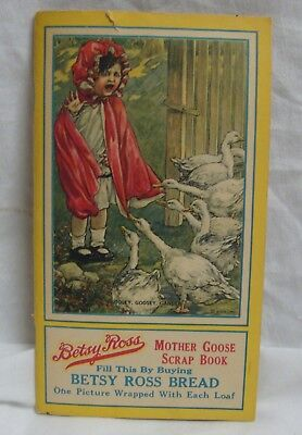 Betsy Ross Bread Mother Goose Scrap Book 12 Victorian Advertising Trade Cards