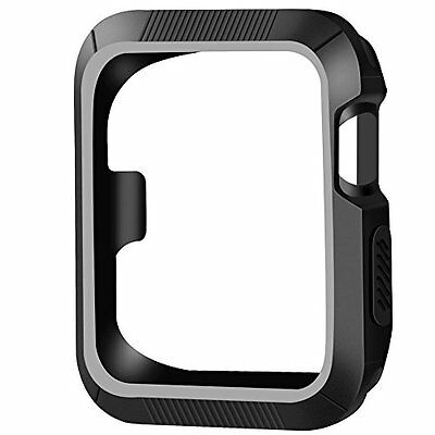 Shock-Proof & Shatter-Resistant Protector Case For Apple Watch Series 3/2/1 42mm