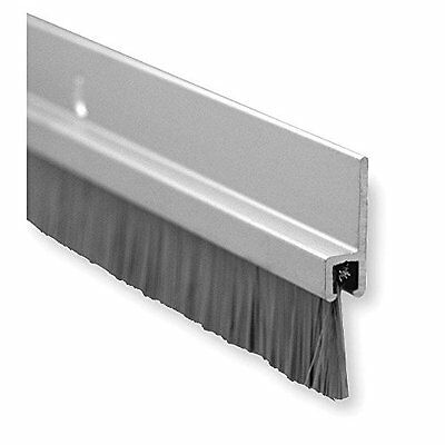 """Pemko Brush Categories Door Bottom Sweep, Clear Anodized Aluminum With 0.625"""""""