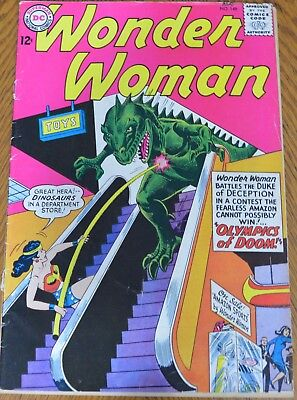 WONDER WOMAN #148 (DC, 1964)Duke of Deception appearance.