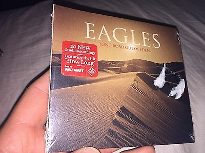 Eagles -Long Road Out of Eden [Sealed New Digipak CD, 2007, 2 Discs)Country Rock
