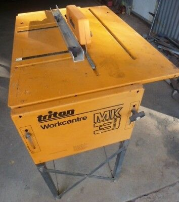 TRITON WORKCENTRE MK 3 - With Operating Manual  (Good  Condition)