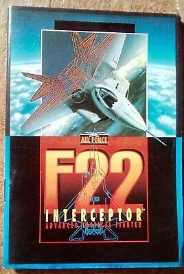 F22 Interceptor Sega Genesis game manual