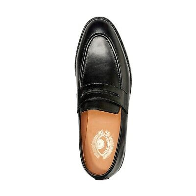Mens Goodyear Welted Genuine Leather Shoes by Carlos Santana® Penny Loafer
