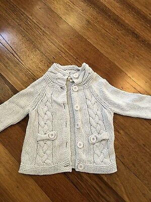 Seed Girls Size 2-3 cable knit jumper