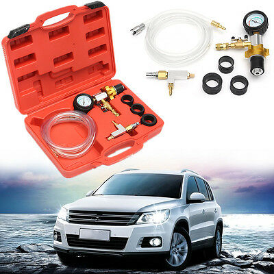 Car Auto Coolant Vacuum Kit Cooling System Radiator Kit Refill & Purging Tool
