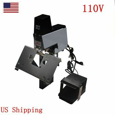 US Electric Stapler 110V 106 Auto Rapid Binder Machine 2-50 Sheets With Pedal