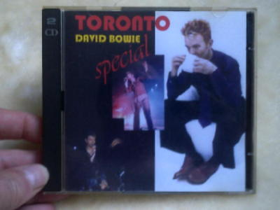 David Bowie double cd Toronto Special pbs1034/1035 rare CD