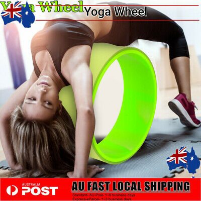 Yoga Wheel, Relieve Stress Balance Exercise Fitness Equipment Mat Ball Shape AU