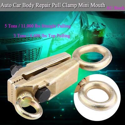 New Arrival 5 Ton Straight Pulling 2 Way Frame Grips Auto Car Pull Clamp
