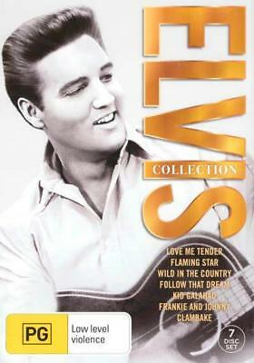 "The Elvis Presley 7 Film Collection 7 Disc Dvd Box Set R4 ""New&Sealed"""