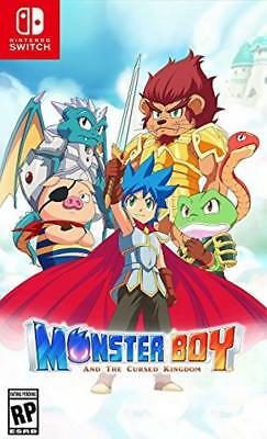 Monster Boy and the Cursed Kingdom Nintendo Switch North America English Version