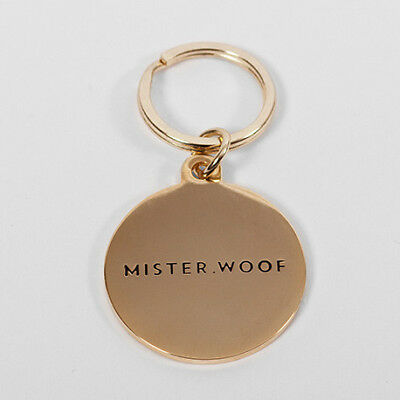 NEW Mister Woof Dog Tag